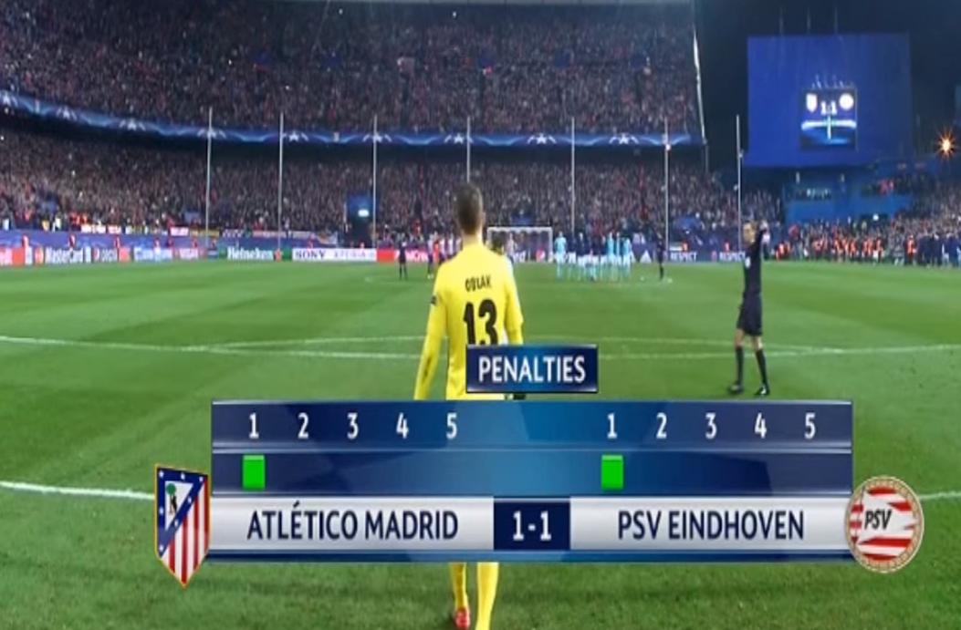 Atletico vs PSV