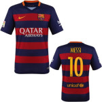 Barcelona red jersey