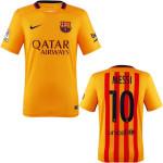 Barcelona yellow jersey