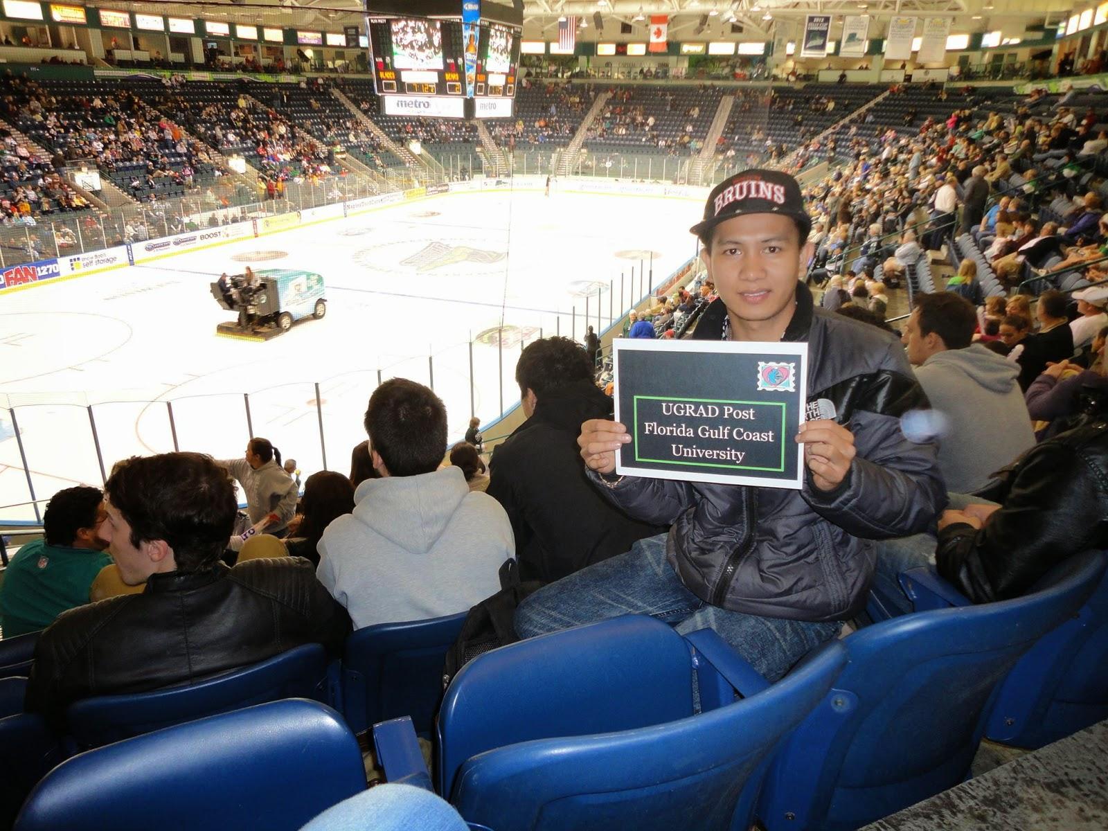 Ice Hockey at Germain Arena, Florida
